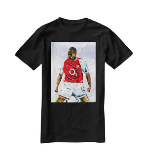 Thierry Henry Kneeslide T-Shirt - Canvas Art Rocks - 1