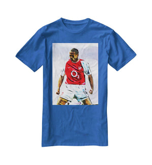 Thierry Henry Kneeslide T-Shirt - Canvas Art Rocks - 2