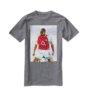 Thierry Henry Kneeslide T-Shirt - Canvas Art Rocks - 3