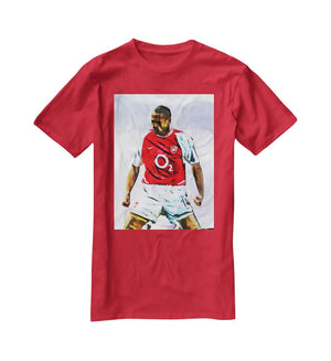 Thierry Henry Kneeslide T-Shirt - Canvas Art Rocks - 4