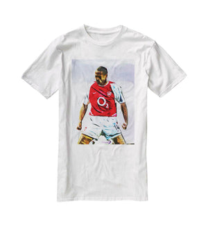 Thierry Henry Kneeslide T-Shirt - Canvas Art Rocks - 5