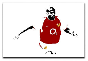 Thierry Henry Pop Art Canvas Print or Poster  - Canvas Art Rocks - 1