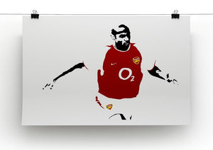 Thierry Henry Pop Art Canvas Print or Poster - Canvas Art Rocks - 2