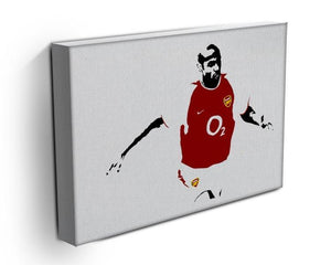 Thierry Henry Pop Art Canvas Print or Poster - Canvas Art Rocks - 3