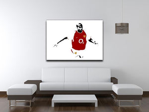 Thierry Henry Pop Art Canvas Print or Poster - Canvas Art Rocks - 4