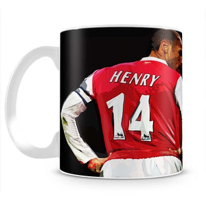 Thierry Henry You Can Alway Do Better Mug - Canvas Art Rocks - 2