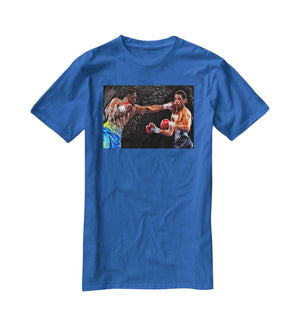 Thomas Hearns vs Virgil Hill T-Shirt - Canvas Art Rocks - 2