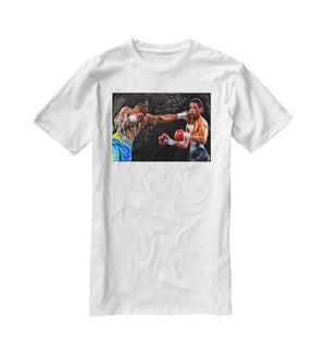 Thomas Hearns vs Virgil Hill T-Shirt - Canvas Art Rocks - 5