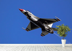 Thunderbirds F-16 fighter Wall Mural Wallpaper - Canvas Art Rocks - 4