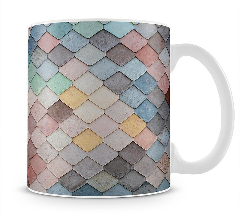 Tiles Art Mug - Canvas Art Rocks - 1