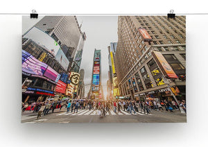 Times Square at sunset Canvas Print or Poster - Canvas Art Rocks - 2
