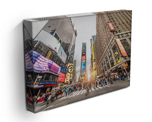 Times Square at sunset Canvas Print or Poster - Canvas Art Rocks - 3
