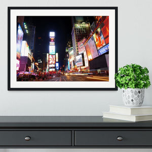 Times Square featured with Broadway Theaters Framed Print - Canvas Art Rocks - 1
