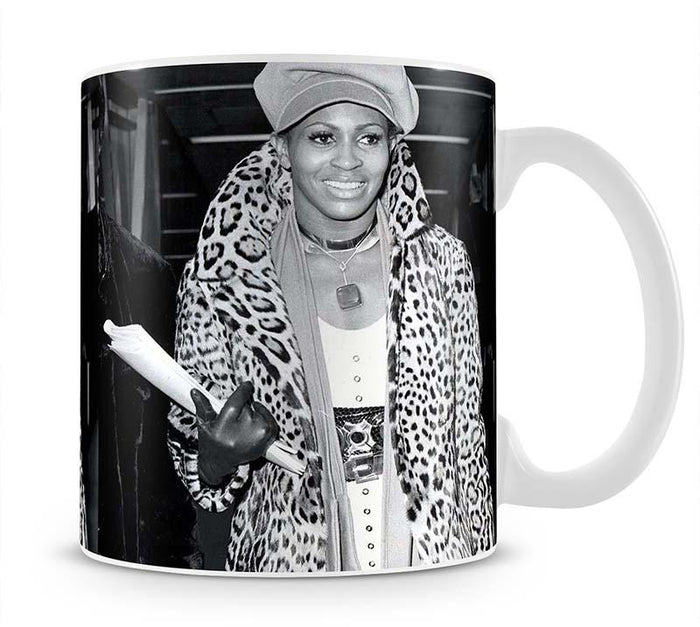 Tina Turner in leopard Mug