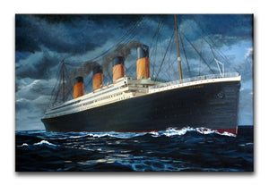 Titanic Canvas Print - Canvas Art Rocks - 1