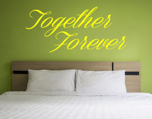 Together Forever Wall Decal - Canvas Art Rocks - 1