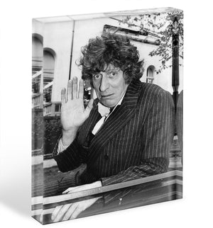 Tom Baker Acrylic Block - Canvas Art Rocks - 1