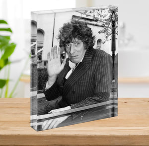 Tom Baker Acrylic Block - Canvas Art Rocks - 2