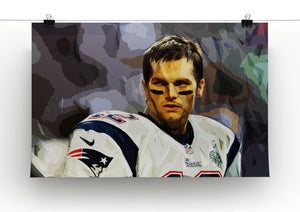 Tom Brady New England Patriots Canvas Print - Canvas Art Rocks - 2
