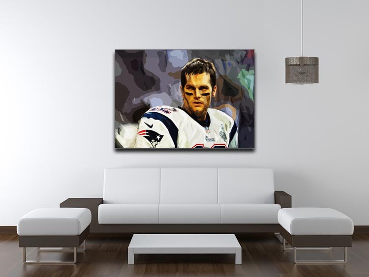Tom Brady New England Patriots Canvas Print - Canvas Art Rocks - 4