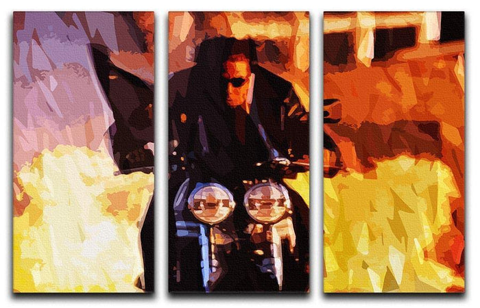 Tom Cruise in Mission Impossible 3 Split Panel Canvas Print