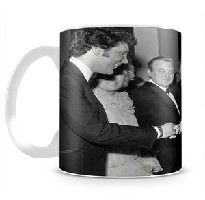 Tom Jones meets The Queen Mug - Canvas Art Rocks - 2