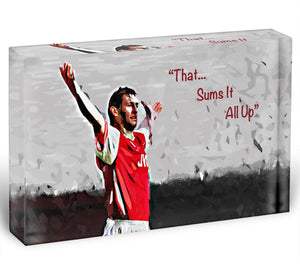 Tony Adams That Sums It All Up Acrylic Block - Canvas Art Rocks - 1
