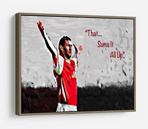 Tony Adams That Sums It All Up HD Metal Print