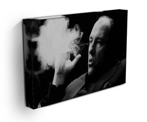 Tony Soprano Cigar Smoke Canvas Print & Poster - US Canvas Art Rocks