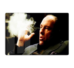 Tony Soprano Cigar Smoke HD Metal Print