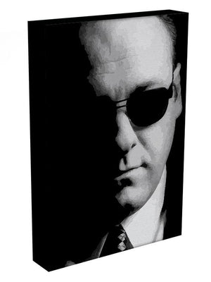 Tony Soprano Black And White Print - Canvas Art Rocks - 3