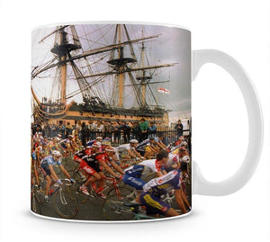 Tour de France in Portsmouth Mug - Canvas Art Rocks - 1