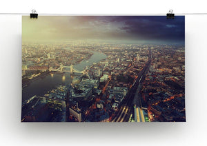 Tower Bridge in sunset time Canvas Print or Poster - Canvas Art Rocks - 2