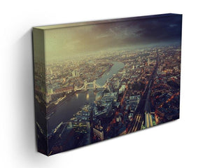 Tower Bridge in sunset time Canvas Print or Poster - Canvas Art Rocks - 3