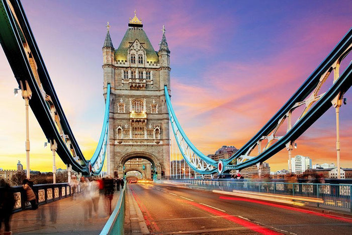 Tower bridge Motion Wall Mural Wallpaper