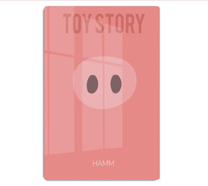 Toy Story Hamm Minimal Movie HD Metal Print