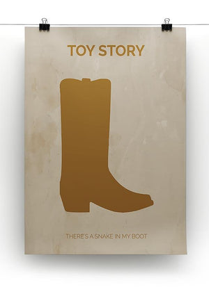 Toy Story Minimal Movie Canvas Print or Poster - Canvas Art Rocks - 2