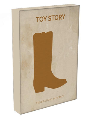 Toy Story Minimal Movie Canvas Print or Poster - Canvas Art Rocks - 3