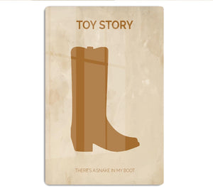 Toy Story Minimal Movie HD Metal Print