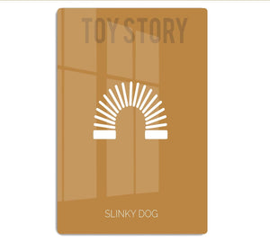 Toy Story Slinky Dog Minimal Movie HD Metal Print - Canvas Art Rocks - 1