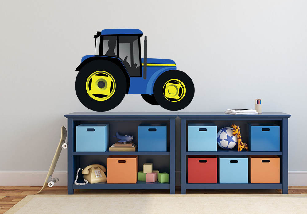 Tractor Wall Decal | Canvas Art Rocks