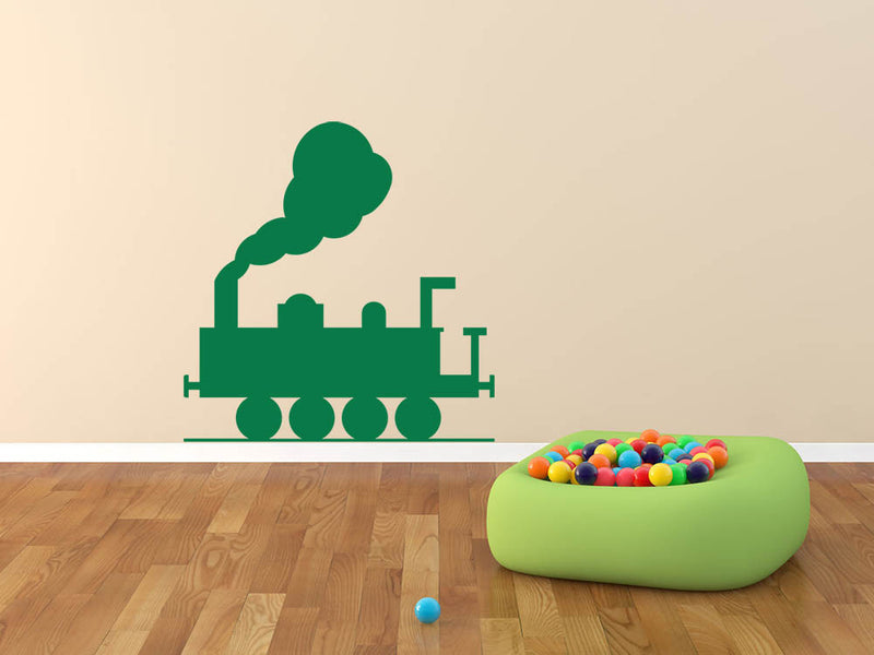Train Version 1 Wall Decal - US Canvas Art Rocks
