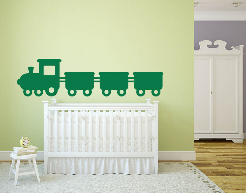 Train Version 2 Wall Decal - US Canvas Art Rocks