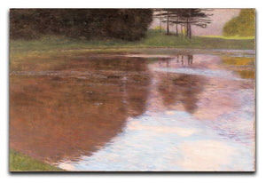 Tranquil Pond near Salzburg by Klimt Canvas Print or Poster  - Canvas Art Rocks - 1