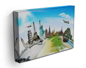 Travel the world monument Canvas Print or Poster - Canvas Art Rocks - 3