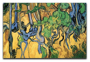 Tree Roots and Trunks by Van Gogh Canvas Print & Poster  - Canvas Art Rocks - 1