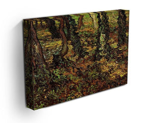 Tree Trunks with Ivy by Van Gogh Canvas Print & Poster - Canvas Art Rocks - 3