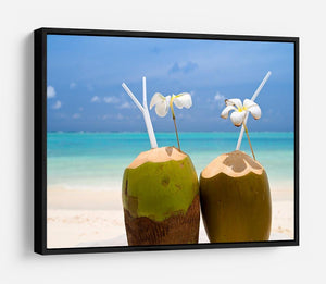 Tropical Coconut Cocktail HD Metal Print - Canvas Art Rocks - 6
