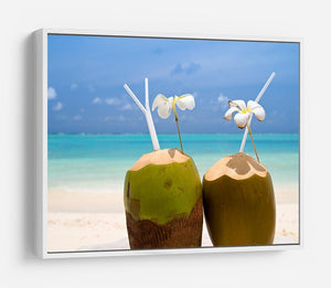 Tropical Coconut Cocktail HD Metal Print - Canvas Art Rocks - 7