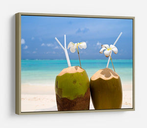 Tropical Coconut Cocktail HD Metal Print - Canvas Art Rocks - 8